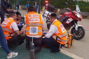 סכנות פורים: ילד נפל מסוס ונפצע באורח בינוני באשדוד