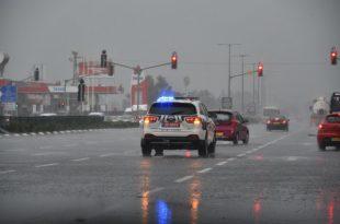 היערכות משטרת ישראל לקראת מזג האויר הסוער והמלצות לציבור הנהגים ומשתמשי הדרך