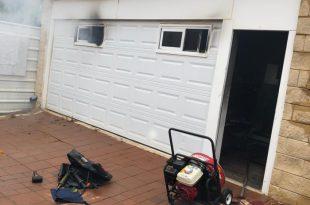 הרוג כבן 70 בשריפה שפרצה בבית באשדוד - צפו