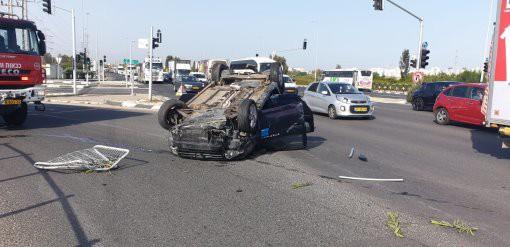 שחקן מ.ס אשדוד שהיה מעורב בתאונה שוחרר לביתו