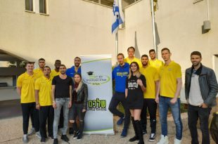 מכבי אשדוד ביום המעשים הטובים במכללת SCE ( המכללה להנדסה)