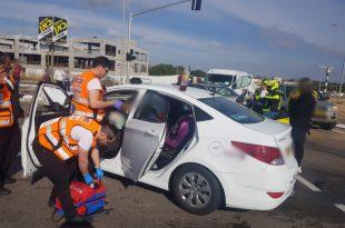 פצוע בתאונת דרכים