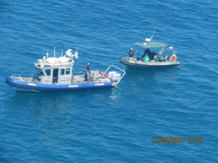 דייגים שעסקו בדייג לא חוקי נתפסו על ידי פקחי רשות הטבע והגנים