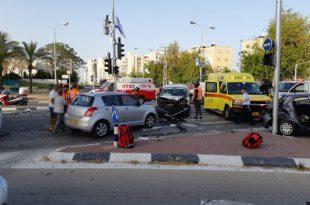 ארבעה פצועים בתאונה הבוקר