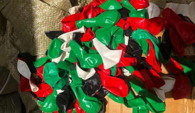 המכס באשדוד מנע הברחת אלפי בלוני תבערה לרשות הפלסטינית על ידי אזרח ישראלי