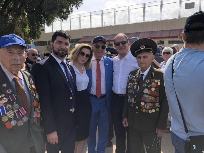 מצעד הוטרנים באשדוד חוגג 74 שנים לניצחון על גרמניה הנאצית