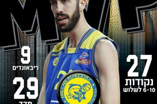 מצטיין המחזור ה-30: מארק טולפסן ממכבי אשדוד