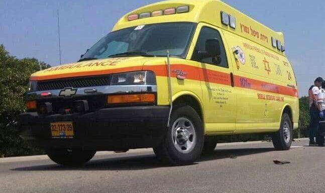 רוכב קורקינט חשמלי נפצע בינוני באשדוד