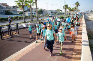 יזם ההליכה של רשות הספורט עומד על יותר מ- 5,750,814,847 צעדים