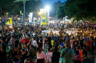"""65 אלף מבקרים ביומיים ב""""פסטיבל עמים וטעמים"""" באשדוד"""