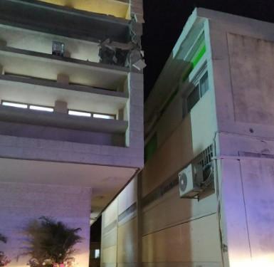 הסלמה בדרום: פגיעה ישירה בבנין מדרשה בשדרות